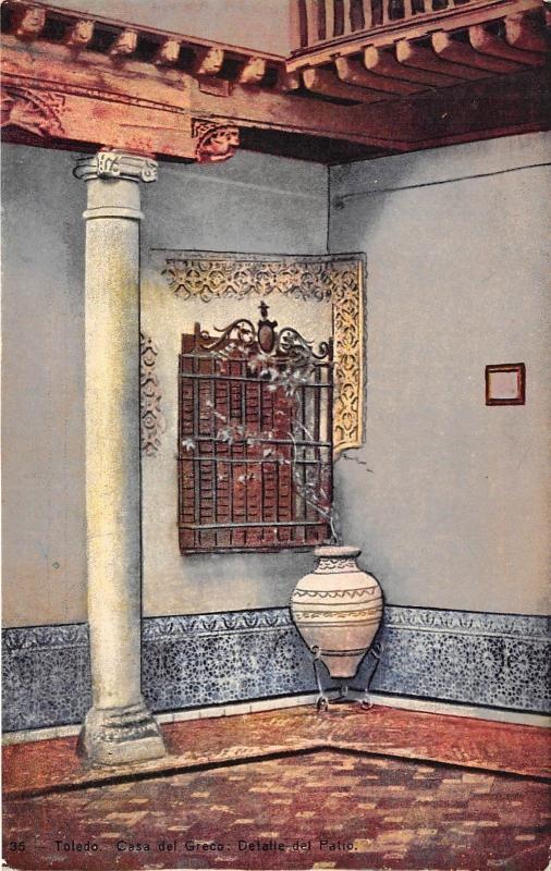 B66555 Toledo Casa del Greco  spain
