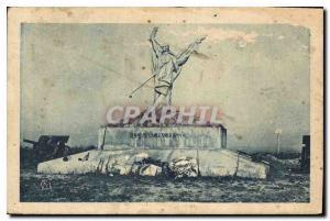 Postcard Old Man Death Plateau