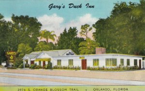 ORLANDO , Florida , 30-40s; Gary's Duck Inn