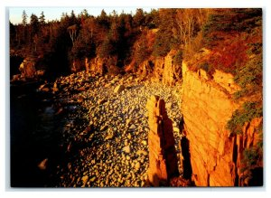 Postcard Acadia National Park Daybreak at Monument Cove, Maine ME MS931