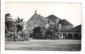 CALIFORNIA, 1900-1910´s; Memorial Church, Standford University