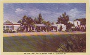 Florida Fort Lauderdale The Carolina Court