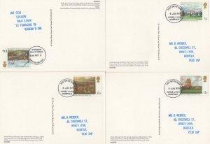 Horse Racing Liverpool Grand National 4x Mint PHQ FDC & Postmark s