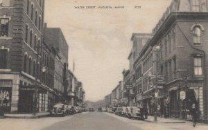 AUGUSTA , Maine, 1930s ; Water Street