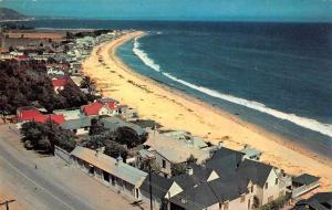 Malibu California Beach Colony Birds Eye View Vintage Postcard J77746