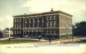 High School Brighton MA Unused
