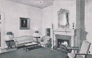 Hotel Queen Anne, Interior-One Of The Quiet & Cheerful Parlors, New Bern, Nor...
