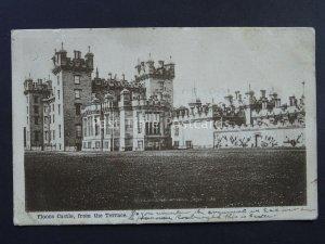 Scotland Roxburghshire FLOORS CASTLE from the Terrace c1904 Postcard by G.W.W.