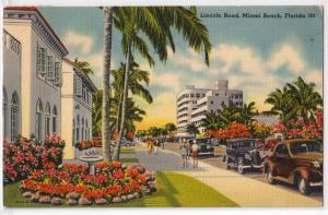 Lincoln Road, Miami Beach Fl