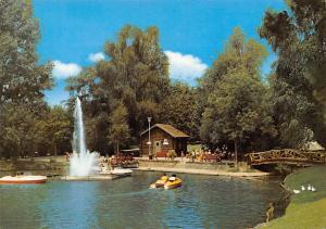 Waldkirch im Schwarzwald Stadtrainsee Lake Boats Bridge