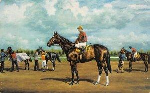 Barbizon, Jockey Willey Hartack, Garden State, New Jersey, USA Horse Racing, ...