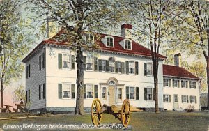 Exterior, Washington Headquarters Morristown, New Jersey Postcard