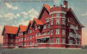 Oxley Hall, Ohio State University, Columbus, Ohio, Early Postcard, Unused