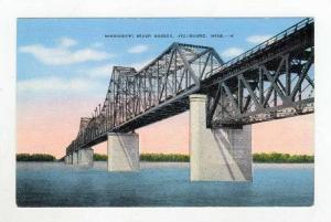 Mississippi River Bridge,Vicksburg,Mississippi,1930-40s