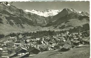 Switzerland, Adelboden, Tierhonli Steghorn Wildstrubel Fi...