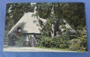 Vintage Postcard The Dairy Althorp Park Northants G1G