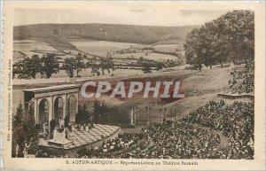 Old Postcard Autun-ANTIQUE_Repr�sentation the Roman Th�atre