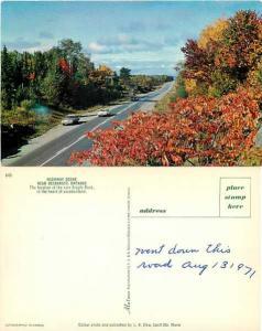 Highway Scene near Desbarats, Ontario, Canada, Chrome