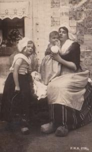 Netherlands Rotterdam Mutterglueck Mother With Child 1909 Photo