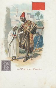 La Poste au MAROC , Africa , 1902