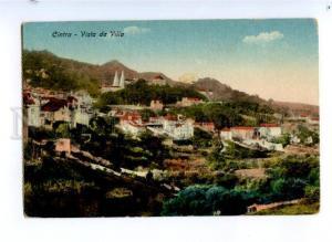 173758 PORTUGAL Sintra CINTRA Vista da Villa Vintage postcard