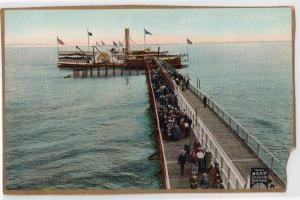 Steamboat Cape May, Dreamland Pier, Coney Island NY
