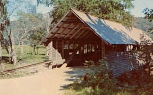 NH - Campton. Bump Covered Bridge #43