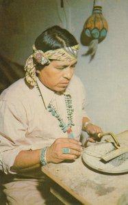Native American , Silversmith , 1950-1960s ;
