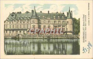 Old Postcard Rambouillet (Seine et Oise) Le Chateau took Channels