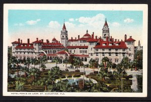 Florida - St. Augustine - Hotel Ponce de Leon