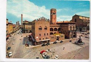 BOLOGNA, Piazza Nettuno e Via Rizzoli, 1967 used Postcard