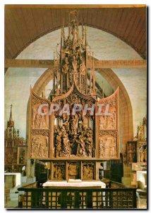 Postcard Modern Marien Altar von Tilman Riemenschneider (1460-1531)