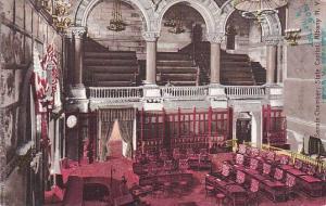 New York Albany Albany Senate Chamber State Capitol 1905