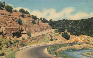 Albuquerque New Mexico~Highway~Cedro Canyon Cibola National Forest~Linen PC
