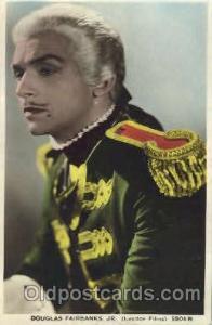 Douglas Fairbanks Actor, Actress, Movie Star, Postcard Post Card Actor Actres...