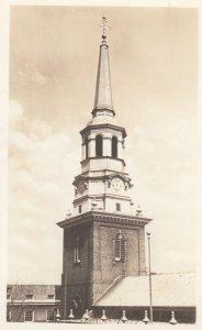 RP: PHILADELPHIA , Pennsylvania , 1930s ; Christ Church Steeple