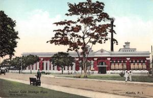 Manila Philippines Insular Cold Storage Plant Vintage Postcard JE228252
