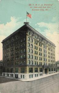 Postcard YMCA Building Kansas City Missouri