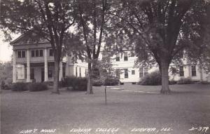 RP:  Lida's W , Eureka College, EUREKA , Illinois , 30-40s
