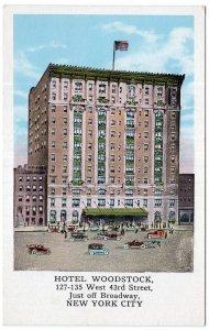 Hotel Woodstock, New York City