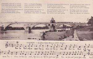 AVIGNON, Vaucluse, France, 1900-1910's; Le Pont Saint-Benezet