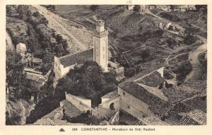 Algeria Constantine Marabout de Sidi Rached Tower Air view Postcard
