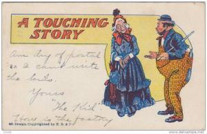 Old Lady & A Bum, A Touching Story, PU-1908