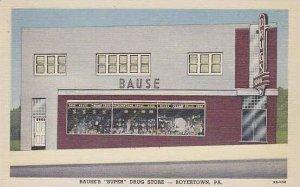 Pennsylvania Boyertown Bauses Super Drug Store