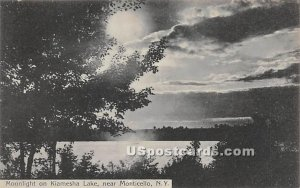 Moonlight on Lake - Kiamesha Lake, New York