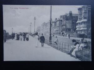 Kent FOLKESTONE The Leas c1911 Postcard by Polden & Hogben