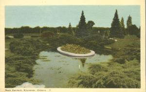 Rock Gardens at Kitchener, Ontario, Canada