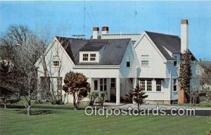 Hyannis Port, Mass, use Postcard Summer Home of Late John F Kennedy