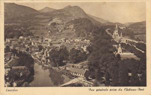 France Lourdes Vue generale pris du Chateau Fort