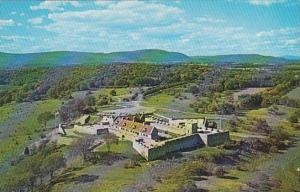 New York Fort Ticonderoga Aeral View